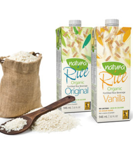 Natur-a Natura Foods Organic Fortified Rice Beverage