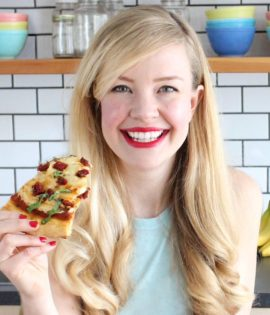 Photo of vegan cookbook author Sam Turnbull from Toronto