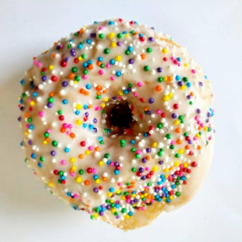 Bloomer's Sprinkle Donut