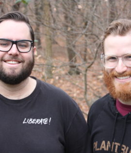 Photo of the Bearded Vegans